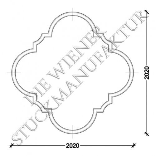 Deckenorn. L0021-C 2020/2020mm