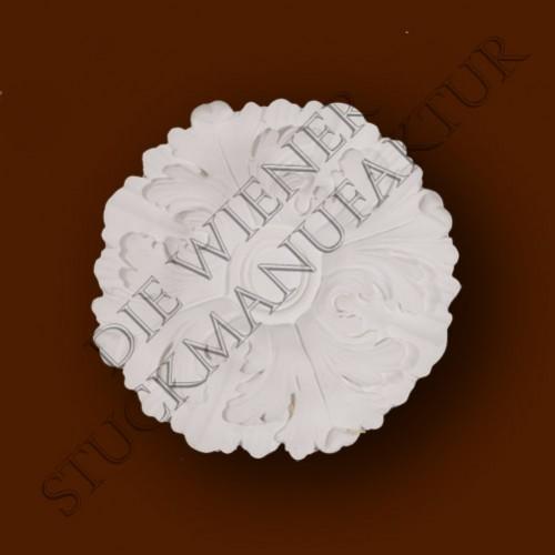 Rosette 220mm Akanthus