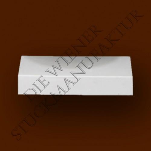 Sockelplatte halb 30/190mm