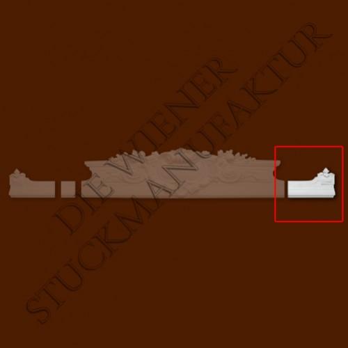 Sopraporte Endstück 185/285mm