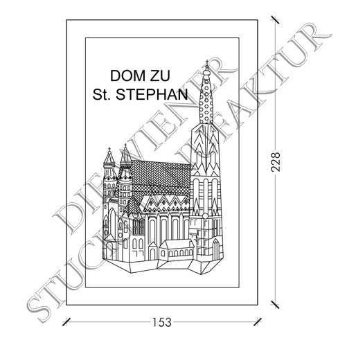 Stephansdom 228/153mm