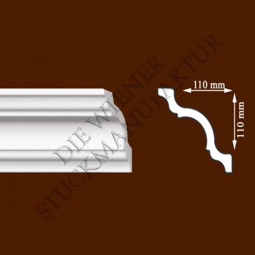 Leiste 110/110mm glatt